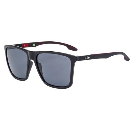 7f84f0294f744 Óculos De Sol Hawaii Preto Com Lente Polarizada Cinza Mormaii na ...
