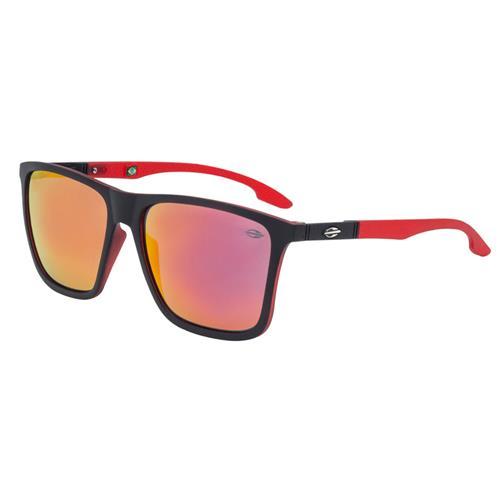 9a6fae484 Óculos De Sol Hawaii Preto Com Lente Vermelha Mormaii na Estrela10