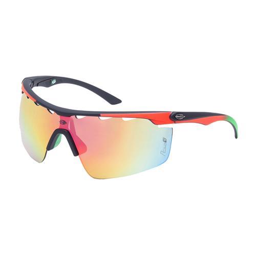 e73481bad Óculos De Sol Athlon Preto Lente Vermelha Flash M0042 Mormaii na ...