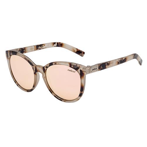 Óculos De Sol Nina Demi Rosa Brilho Lente Rosa Gold C0070f7946 Colcci f657250a11