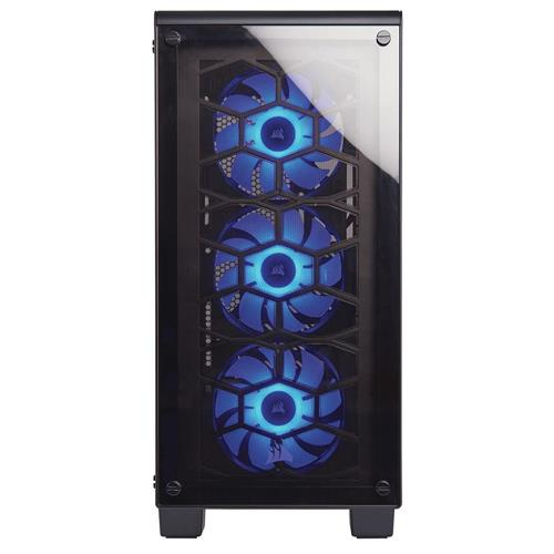 Gabinete mid tower gaming crystal 460x rgb cc 9011101 ww - Mesa tower crystal ...