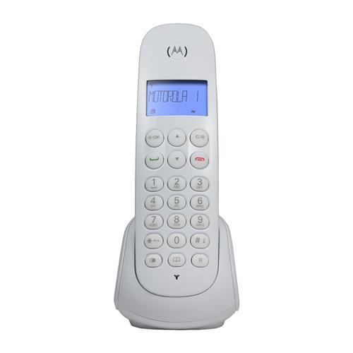Telefone Sem Fio Branco Digital Com Identificador Moto700w Motorola