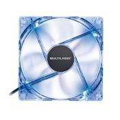 Cooler Fan 12x12cm Led Azul GA135 multilaser