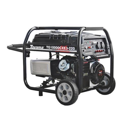 Gerador De Energia Á Gasolina 4T 460Cc 16Hp 380V Tg10000cxe3-380 Toyama