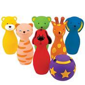 Brinquedo Boliche Amigos Coloridos K10366 Ks Kids