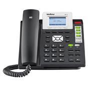 Telefone Ip Fixo Terminal Inteligente Tip210 Cinza 4002010 Intelbras