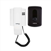 Interfone Residencial Eletrônico Intelbras 4521010 IPR 8010 Preto/B...