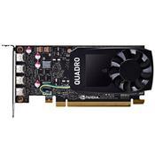 Placa De Vídeo Nvidia Quadro P1000 4Gb Ddr5 128 Bits Vcqp1000-Porpb