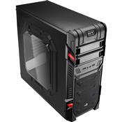 Gabinete Gamer Atx Usb 2.0 4 Baias Preto En58683 Aerocool