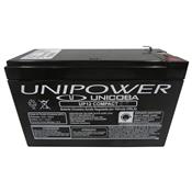 Bateria Selada 12V 6A Para Nobreak Alarme Up12 Compact Unipower