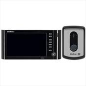 Vídeo Porteiro Intelbras IV 7010 HF Completo Viva Voz 7 Pol Preto