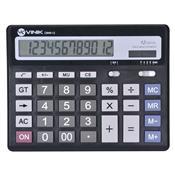 Calculadora De Mesa 12 Dígitos Preta Cm40 Vinik
