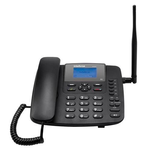 Telefone Celular Fixo 3G 5 Vdc Cf6031 Intelbras
