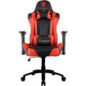 Cadeira Gamer Inclinável Até 150Kg Preta E Vermelha Tgc12 Thunderx3
