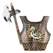 Kit Com Machado E Escudo Cavaleiros Vikings BR791 MultiKids