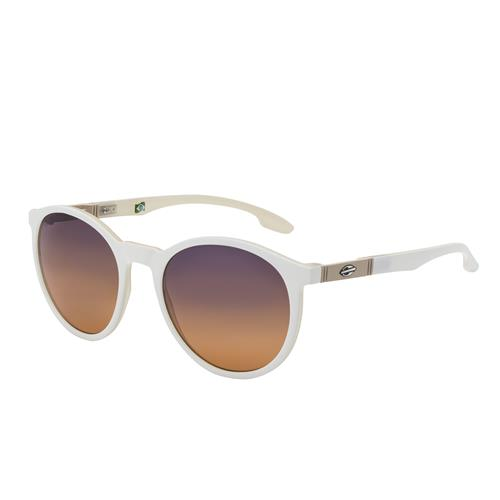 a30a60379 Óculos de Sol Branco Fosco Polarizado Joaca Mormaii