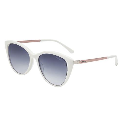 c7726a4c9 Óculos De Sol Branco E Dourado Brilho C0094B4386 Colcci na Estrela10
