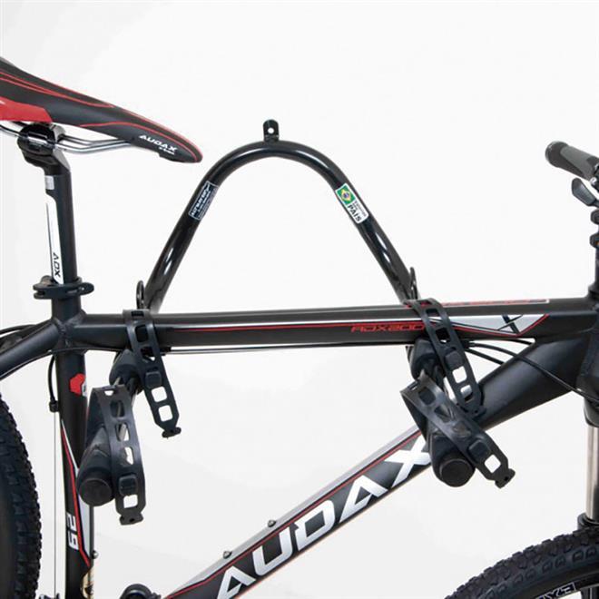 5aafeccde Suporte De Parede Horizontal Duplo Para 2 Bicicletas AL-28 Altmayer. Ampliar