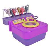 Máquina De Lavar Infantil Com Sistema De Sucção Homeplay