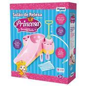 Salão De Beleza Princesa Beaty Girls Rosa E Amarelo Homeplay