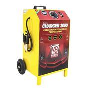 Carregador De Bateria V8 Brasil Charger 1000 Mono Bivolt 100A