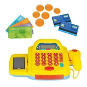 Caixa Registradora Infantil Amarelo 3109 Homeplay