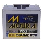 Bateria Moura Estacionária Para Nobreak 12Mva-18 Centrium Energy