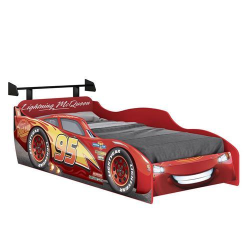 565a416d62 Cama Infantil Vermelha E Preta Carros Disney Star Pura Magia na ...