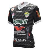Camisa Oficial Copagril Futsal 2018 Goleiro Preta 43271dfbf2d44