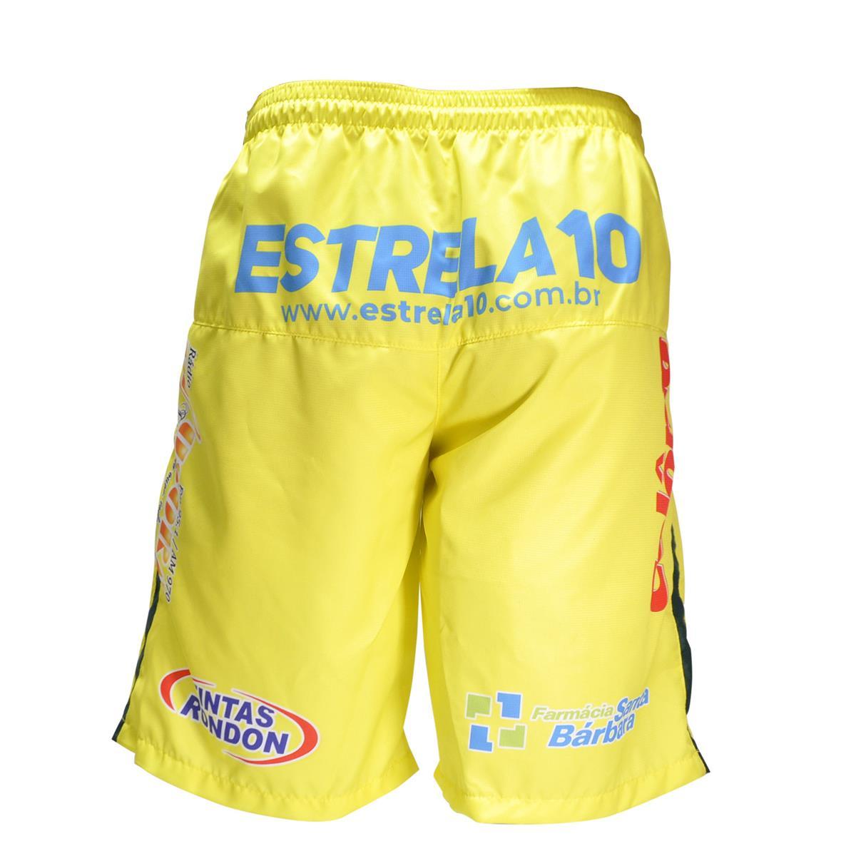Calção Oficial Copagril Futsal 2018 Amarelo na Estrela10 2390320fc595d