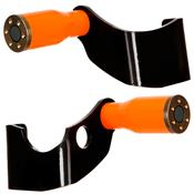 Protetor Slider CB 300 Laranja Aço Carbono Cromo Forte