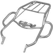 Bagageiro Tubular Alça Para Nxr 125-150 Bros Cromado Cromo Forte
