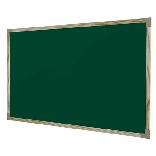 Quadro Negro Escolar Moldura Mdf Linheiro 200X120 Cm Stalo