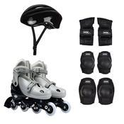 Kit Roller Com Acessórios De Segurança 34 Ao 37 Cinza 40600104 Mor