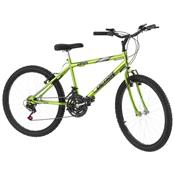Bicicleta Aro 24 18 Marchas Green Chrome Line Pro Tork Ultra