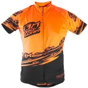 Camisa Para Ciclismo Adulta Bike Line Laranja Ultra Bikes