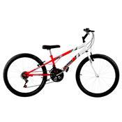 Bicicleta Rebaixada Aro 26 Vermelha Ferrari E Branca Pro Tork Ultra