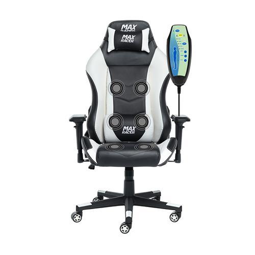 Cadeira Gamer Regen Rgn-4 Preta E Branca Max Racer