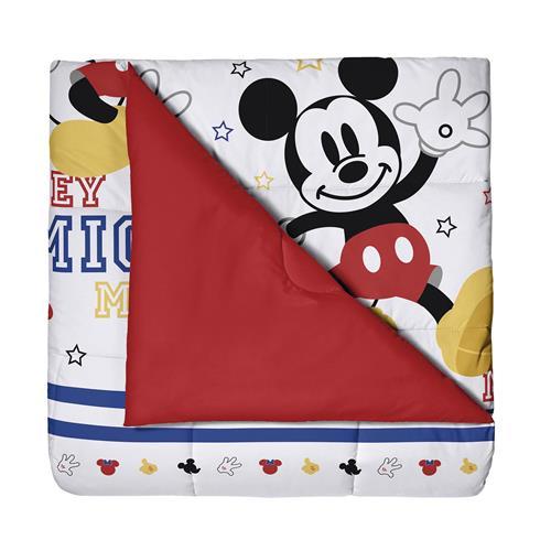 b958791e5a Edredom Infantil Vermelho Disney Mickey Play Santista na Estrela10