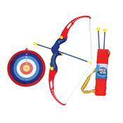 Conjunto Arco E Flecha Infantil Belfix Com Ventosas