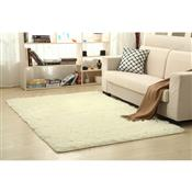 Tapete 200x250cm Branco New Shaggy Camesa