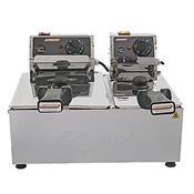 Fritadeira Elétrica Industrial 2 Cubas 3 E 5L 220V 2672 Cotherm