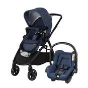Carrinho De Bebê Travel System 3 Posições Azul Anna Maxi-Cosi