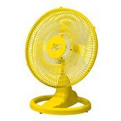 Ventilador Oscilante De Mesa 50Cm Amarelo Bivolt Venti-Delta