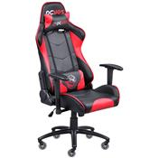 Cadeira Gamer Mad Racer V8 Vermelha Rodas Em Gel Madv8vmgl Pcyes