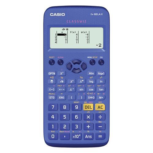 Calculadora Científica Casio 274 Funções Fx-82Lax Bu Azul