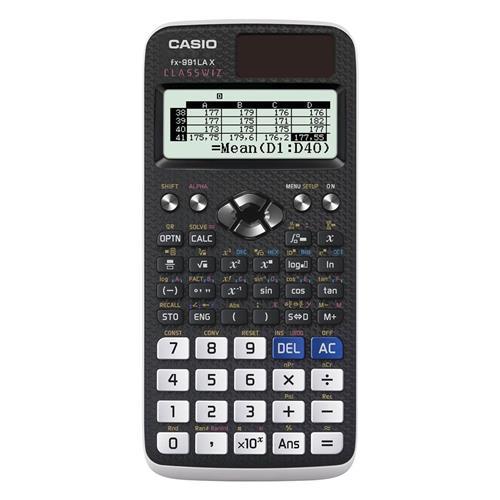 Calculadora Científica Casio Fx-991La 552 Funções Preta