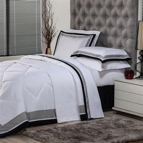 87a6a969dd Jogo De Cama King Plumasul Soft Comfort 4 Peças Branco na Estrela10