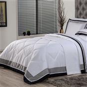 Edredom Solteiro Plumasul Soft Comfort 160X220cm Microfibra Branco