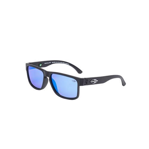 4cfcc093b Óculos De Sol Mormaii Monterey Azul Translucido Lente Cinza na Estrela10